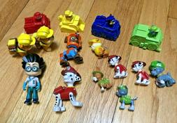 Lot of Paw Patrol Pups Toy Action Figures Chase Skye Rocky M
