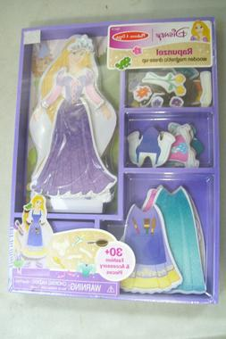 Melissa & Doug Disney Rapunzel Wooden Magnetic Dress-Up Set