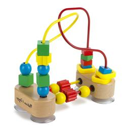 Melissa & Doug First Bead Maze - Wooden Educational Toy Best