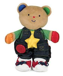 Melissa & Doug K's Kids - Teddy Wear Stuffed Bear Educationa