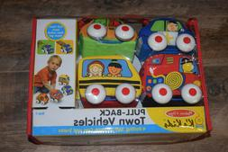 melissa and doug pull back town vehicles new kids toy