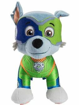 """Paw Patrol Mighty Pups Special Edition Rocky Plush 8"""" Stuffe"""