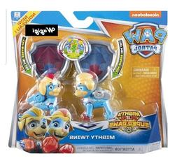 Paw Patrol MIGHTY TWINS Tuck & Ella Mighty Pups Super Paws P