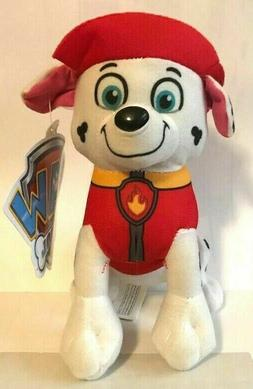 "New 8"" Paw Patrol Plush Stuffed Animal Toy for Kids Marshall"