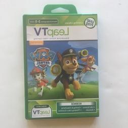 NEW Leap Frog Leap TV Paw Patrol Game Science Theme Ages 3-5