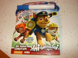 NEW PAW PATROL Imagine Ink Activity Book Invisible Marker Me