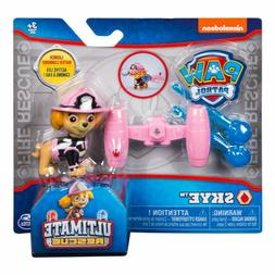 New PAW PATROL NICKELODEON ULTIMATE RESCUE SKYE Water Cannon