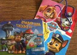 New Paw Patrol Preschool Puzzle 24 Pieces Gift Bag 3 4 5 6 B