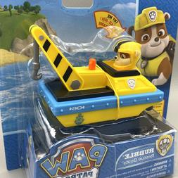 NEW Paw Patrol Rubble Rescue Boat Wind-Up Pool Water Bath To