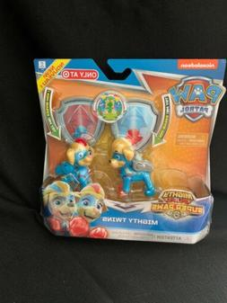 NEW release Nickelodeon Paw Patrol Mighty Pups Mighty Twins!