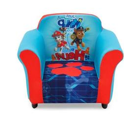 Nick Jr. PAW Patrol Kids Upholstered Chair Sculpted Plastic