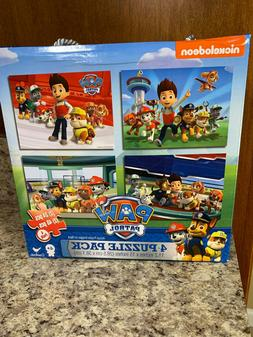 Nickelodeon Cardinal Ind Paw Patrol 4 Puzzle Pack 24 Piece 4