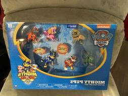 Nickelodeon PAW Patrol Mighty Pups Action Pack Gift Set Spin