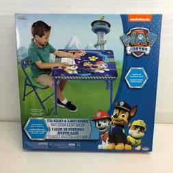 Nickelodeon paw patrol junior boys Folding Table & Chair New