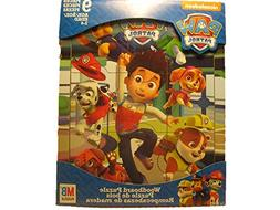 Nickelodeon Paw Patrol Puzzle Wood Board Toddler Puzzle 9 La