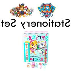Nickelodeon Paw Patrol Rescue Pups Stationery Set Notebook P