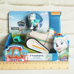 Original Paw Patrol Everest's Rescue Snowmobile, Vehicle and