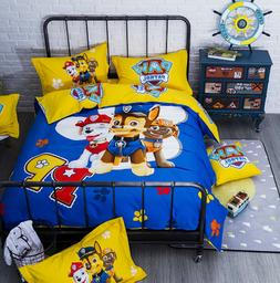 Paw Patrol 100%Cotton Marshall Sky Chase Duvet Cover Bedding