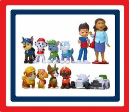 Paw Patrol 12 Figurine Set Cake Topper Toy Playset FAST SHIP