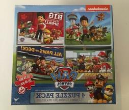 Cardinal Industries Paw Patrol 4-Pack Of Puzzles Toy Kids Pl