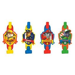 Paw Patrol 8 PCS BLOWOUTS Birthday Party Supplies Noisemaker