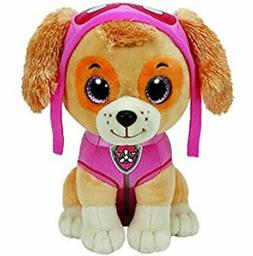 "Paw Patrol Beanie Boos TY Skye 11"" Medium Plush Toy"