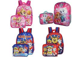 Paw Patrol Boys Girls School Backpack Lunch box Book Bag SET