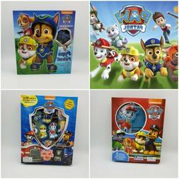 PAW Patrol Bundle 3 Book Playsets Ages 3+ Blocks Stickers To