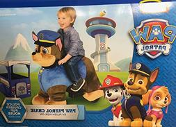 Dynacraft Paw Patrol's Chase 6 Volt Plush Electric Ride-On &