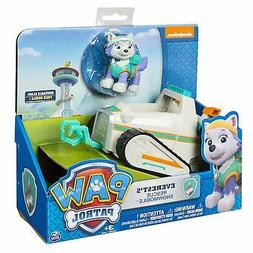 Paw Patrol Everest's Rescue Snowmobile Vehicle and Snow Pup