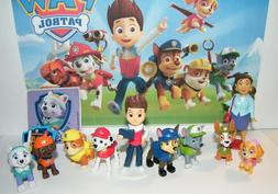 Nickelodeon PAW Patrol Figure Set of 12 Toys with 10 figures