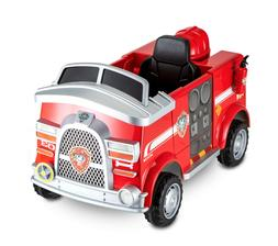 Paw Patrol Fire Truck 6Volt Powered Marshall Rescue Kids Rid