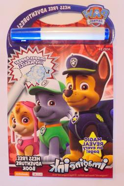Bendon Paw Patrol Imagine Ink Mess Free Game Activity Book