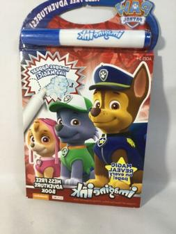 Paw Patrol - Imagine Ink Mess Free - Travel Game Book - Grea