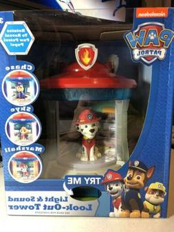 Nickelodeon Paw Patrol Light & Sound Look-Out Tower Rotating