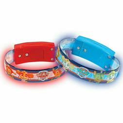 Paw Patrol Light Up Bracelets Red and Blue Party Event Favor
