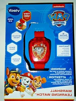 *PAW Patrol* MARSHALL Red Learning Watch* NICK JR. Character