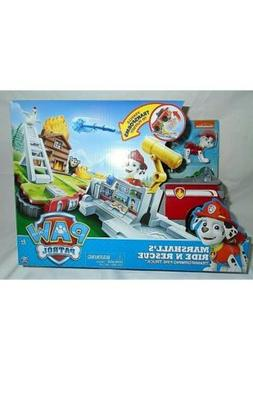 Paw Patrol Marshalls Ride N Rescue Toy New in Box Vehicle Pl