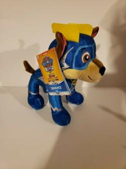 PAW PATROL MIGHTY PUPS SUPER PAWS CHASE PLUSH IN HAND READY