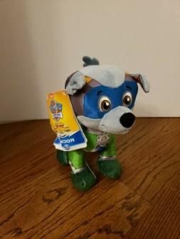 Paw Patrol Mighty Pups Super Paws ROCKY 8-Inch Plush HARD TO