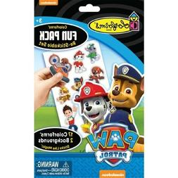 Colorforms PAW PATROL Playset Fun Pack 17 Reusable Stickers