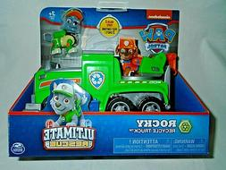 Nickelodeon Paw Patrol Rocky's Recycle Truck - Ultimate Resc