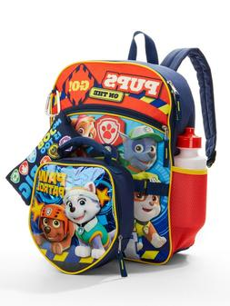 paw patrol school backpack lunch box book