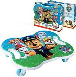 paw patrol scoot racer caster board ride