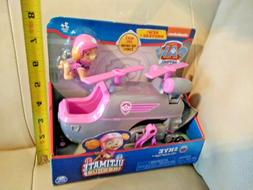 Paw Patrol Skye Ultimate Rescue Helicopter w/ Figurine Actio