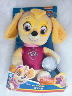Paw Patrol Snuggle Up Lights and Sounds Skye Doll Plush Toy