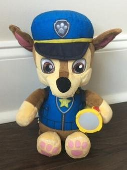 Paw Patrol Snuggle Up Lights & Sounds CHASE Doll Plush Toy N