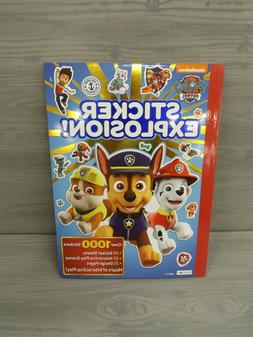 Paw Patrol Sticker Explosion  Hours Of Interactive Play