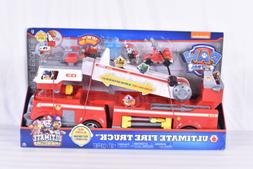 Paw Patrol Ultimate Rescue Fire Truck with Extendable 2 ft t