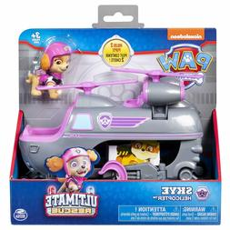 Paw Patrol Vehicle Ultimate Rescue Skye Helicopter with Movi